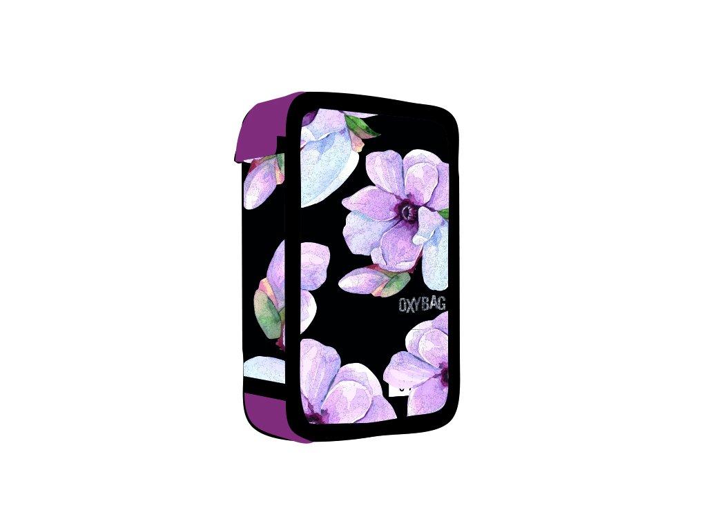 Penál 3 patra prázdný OXY Floral