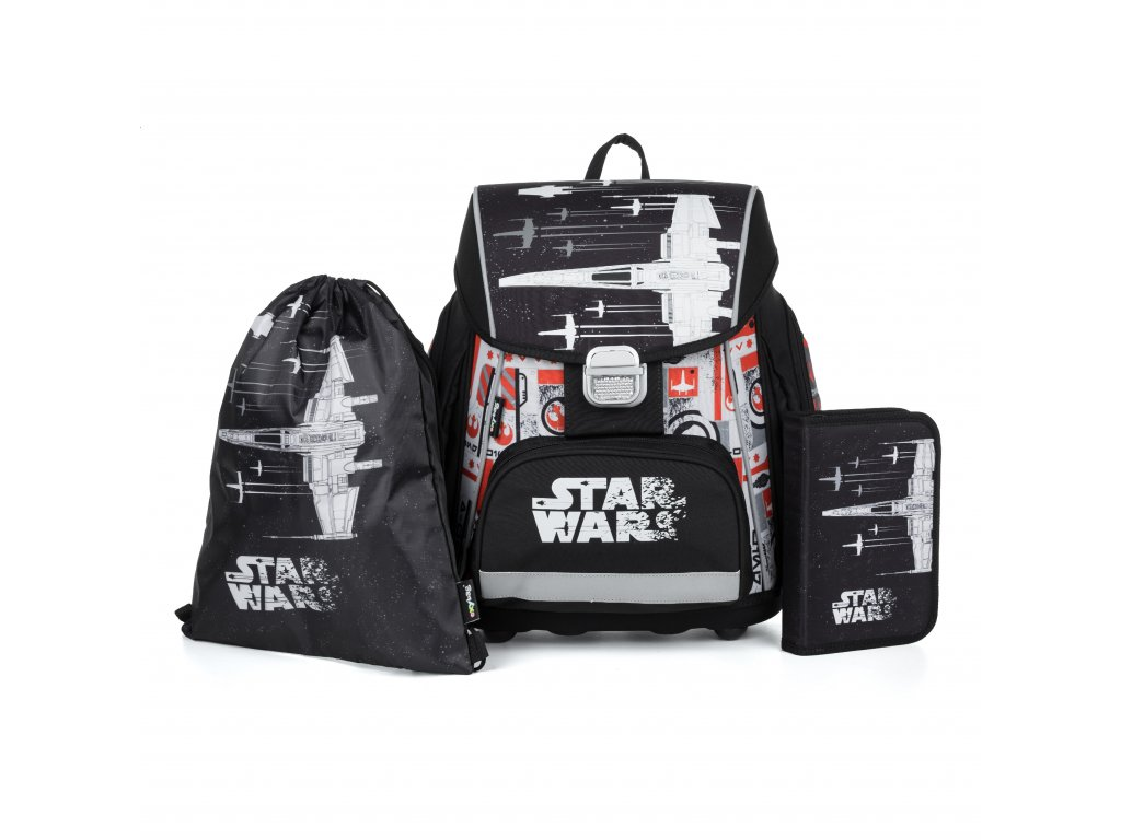 Školní aktovka Set 3dílný - Oxybag PREMIUM Star Wars