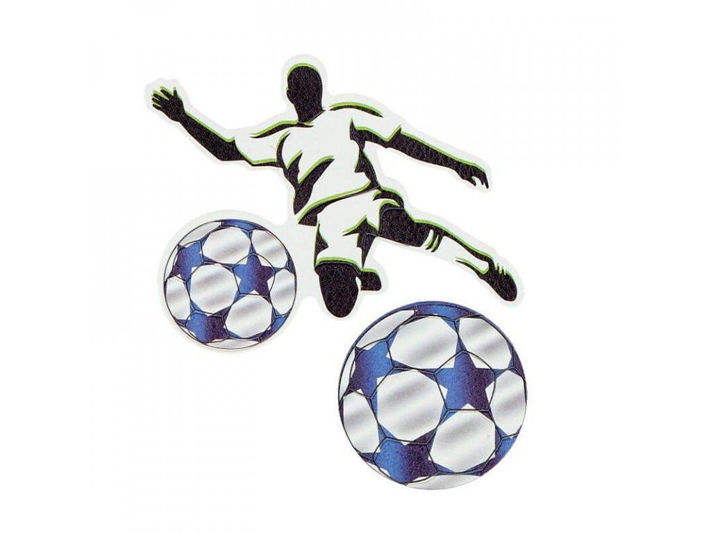 Samolepky Fotbalista 2 ks