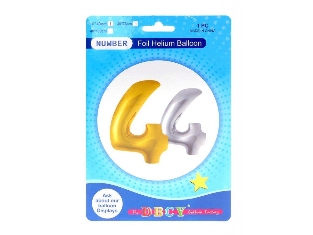 Nafukovací číslo - balonek 4