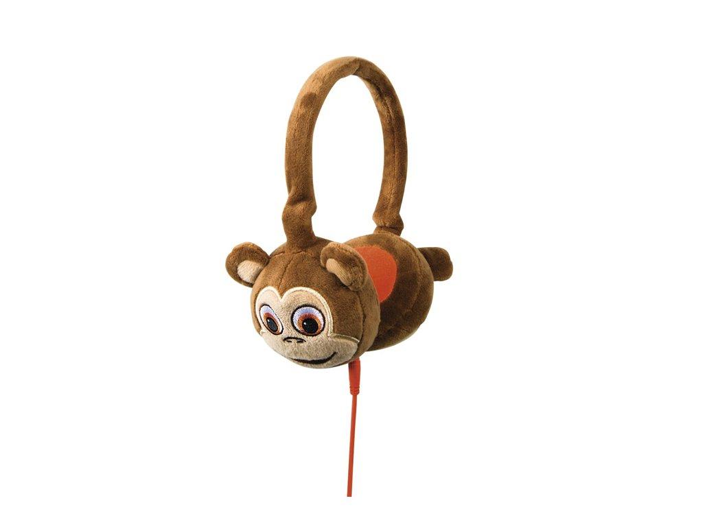 TabZoo dětská sluchátka Monkey