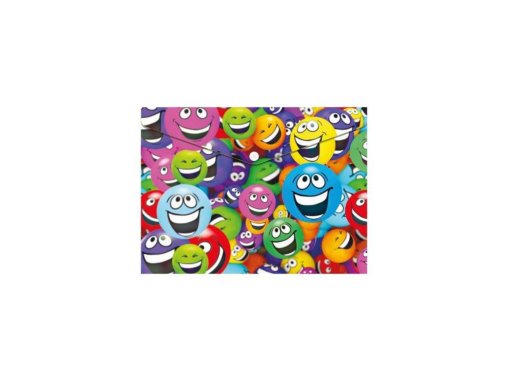 obal pp s patentkou a4 smiles