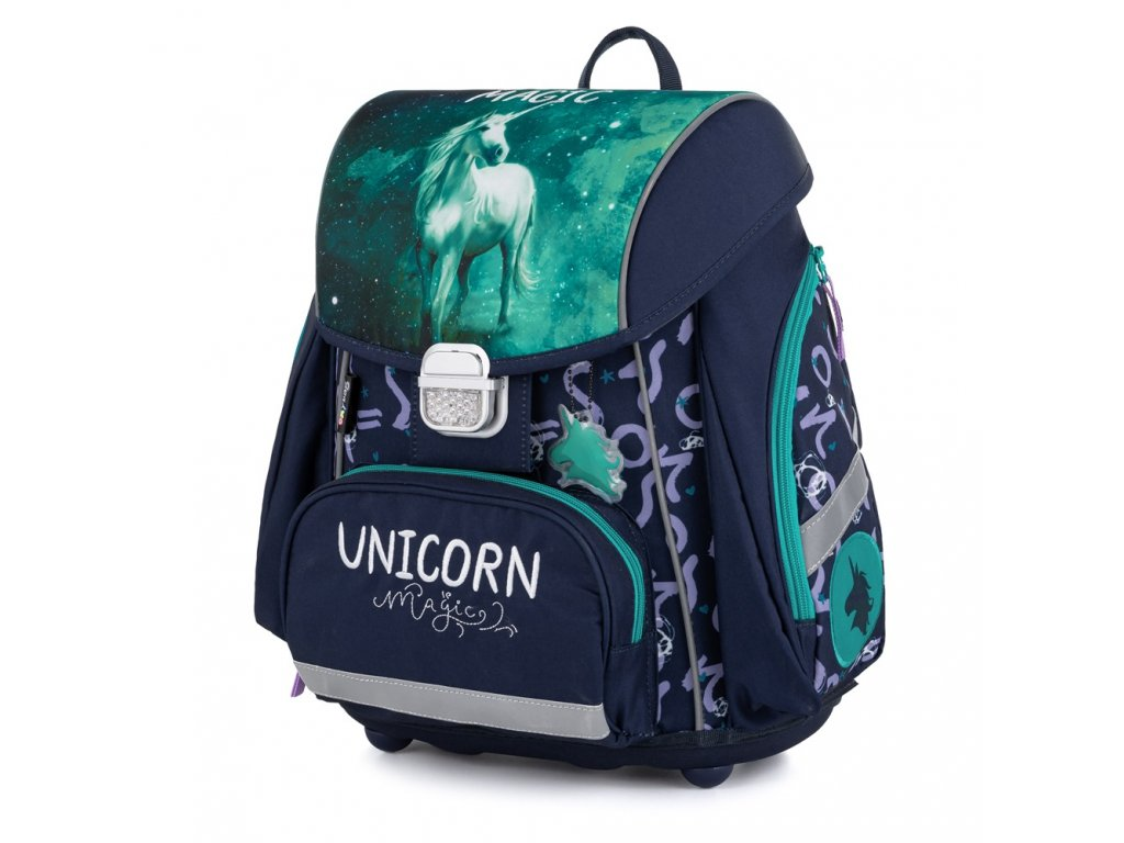 Školní aktovka pro prvňáčka PREMIUM Unicorn 1