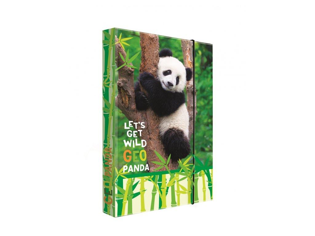 Box na sešity A4 Jumbo Panda