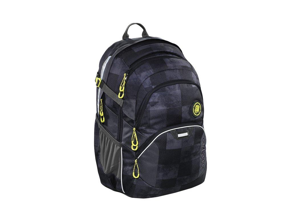 Školní batoh Coocazoo JobJobber2 - Mamor Check  + Pytel na záda