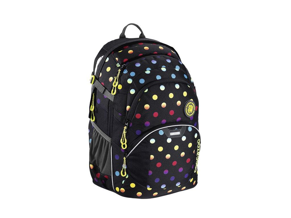 Školní batoh Coocazoo JobJobber2 - Magic Polka Colorful