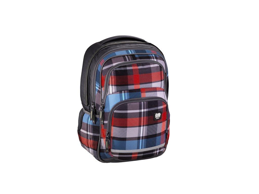 Školní batoh All Out Blaby - Woody Grey