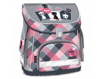 Školní aktovka pro prvňáčky Ars Una - Think Pink magnetic