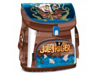 Aktovka do školy Ars Una, Pirát Jolly Roger magnetic