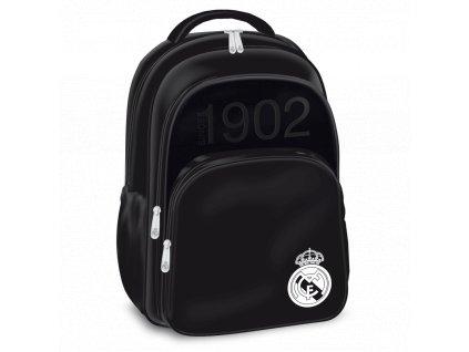 Školní batoh Real Madrid black 3k