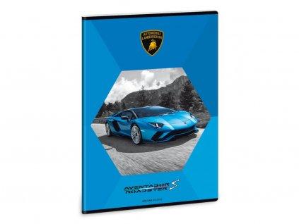 Ars Una Sešit Lamborghini modré A4