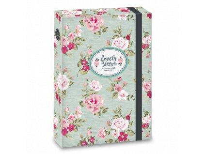Box na sešity Ars Una - Vintage Rose A5