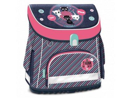 Školní aktovka pro prvňáčky Ars Una - Think Pink magnetic 18