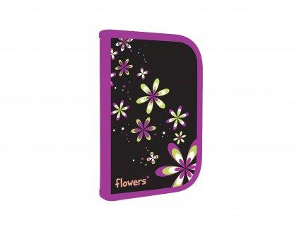 3 507A flowers15 pencil case