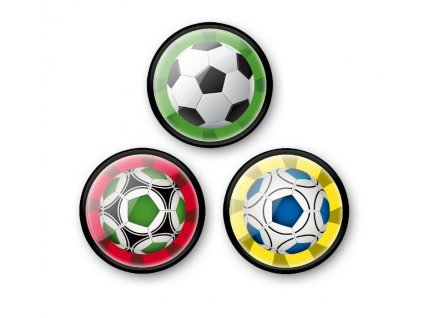 Sada odznáčků Nikidom Roller Pins Balls