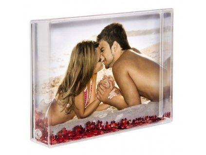 Hama akrylový rámeček na fotku Amore > varianta srdce