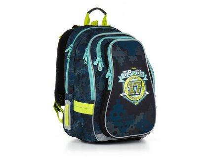 Školní batoh Topgal CHI 878  D - Blue