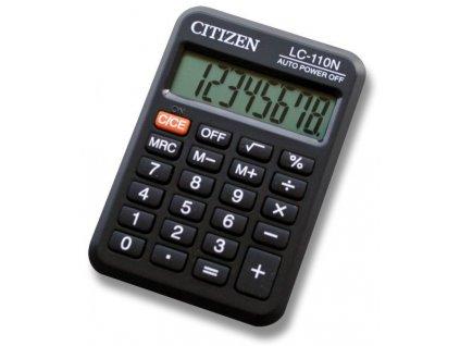 Kapesní kalkulátor Citizen LC-110N