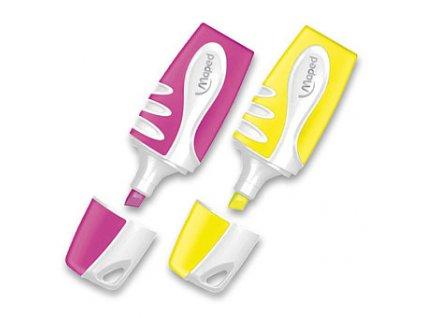 Zvýrazňovač Maped Fluo Peps Pocket Soft - výběr barev