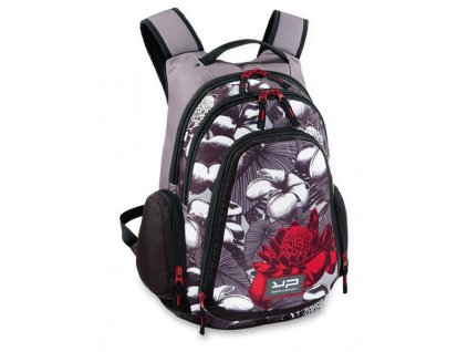 Batoh YP Bodypack Flowers - 31 l, šedý