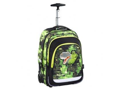 Školní batoh na kolečkách Baggymax Dino