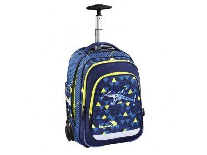 Školní batoh na kolečkách Baggymax Vesmírná loď