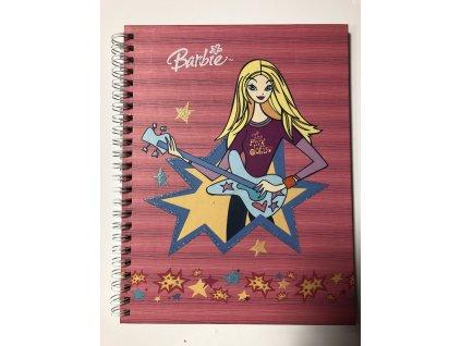 Blok spiralový A5 Barbie > varianta