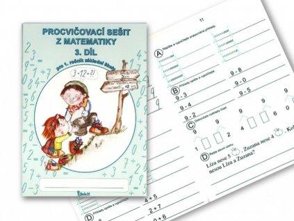 Procvičovací sešit Matematika 3.díl 1.ročník