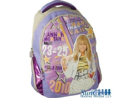 Školní batoh obyčejný Hannah Montana