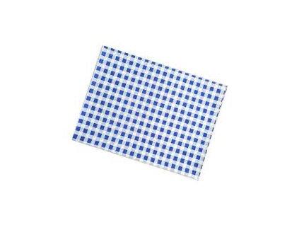 Ubrus 65x50cm PVC - modrý