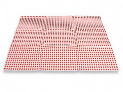 Ubrus 65x50cm PVC - červený
