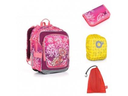 Školní batoh Topgal CHI 863 H - Pink SET LARGE