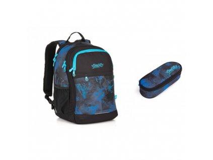 Studentský batoh Topgal RUBI 18027 B SET SMALL