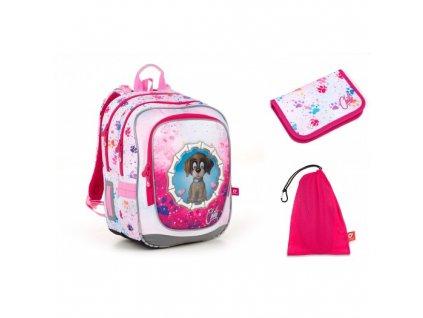 Školní batoh Topgal ENDY 18017 G SET MEDIUM