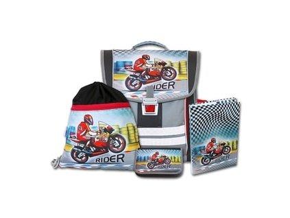 Školní aktovkový set Emipo Rider 4-dílný