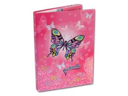 Školní box A4 Butterfly