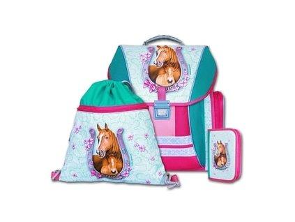 Školní batohový set Emipo Beauty 3-dílný