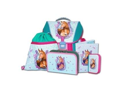 Školní batohový set Emipo Beauty 5-dílný