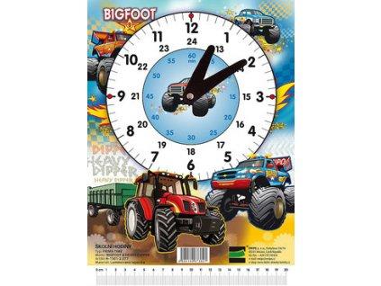 Školní hodiny Bigfoot - Emipo Traktor