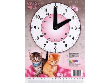 Školní hodiny Emipo Cats & Mice