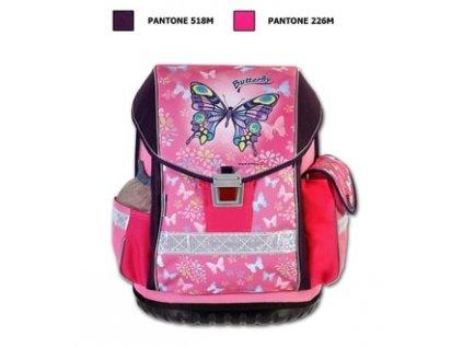 Školní batoh ERGO TWO Butterfly