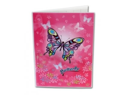 Desky na abecedu Butterfly
