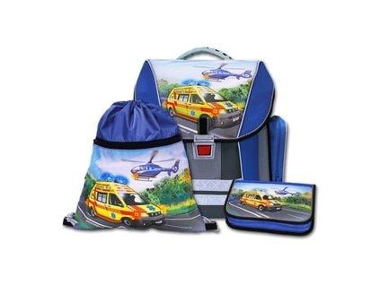 Školní batohový set Emipo Záchranáři 3-dílný