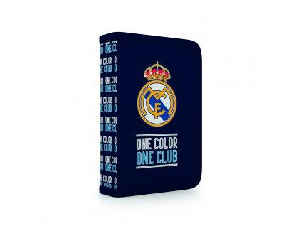 Penál do školy 2 chlopně - prázdný Real Madrid