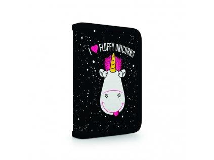 7 88618 karton pp dmf18 unicorn pencil case 3D front