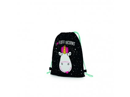 7 81018 karton pp dmf18 unicorn shoe bag 3D front
