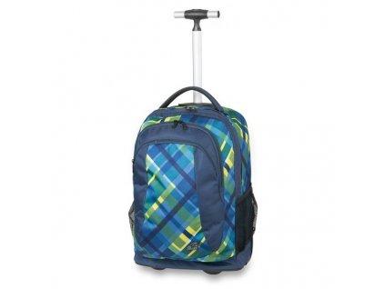 Školní batoh na kolečkách Walker Spin Checker