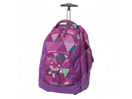 Školní batoh na kolečkách Walker Frieda the Fox