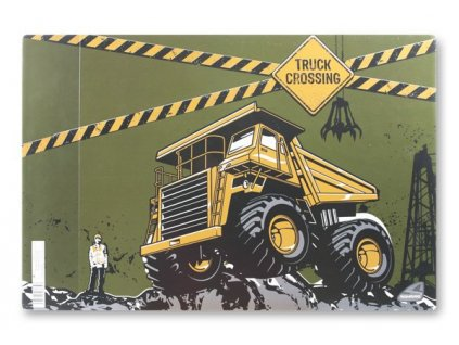 Podložka na stůl Truck Crossing - 60 x 40 cm
