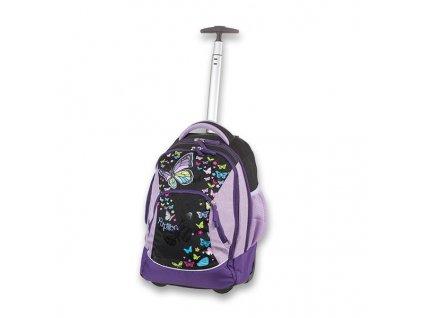 Školní batoh na kolečkách Walker Scoot Papillon
